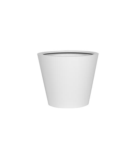 Fiberstone Matt white bucket M