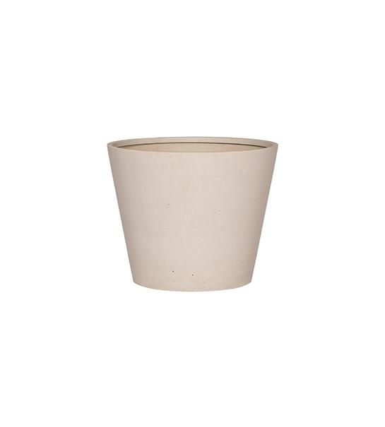 Refined Bucket S natural white
