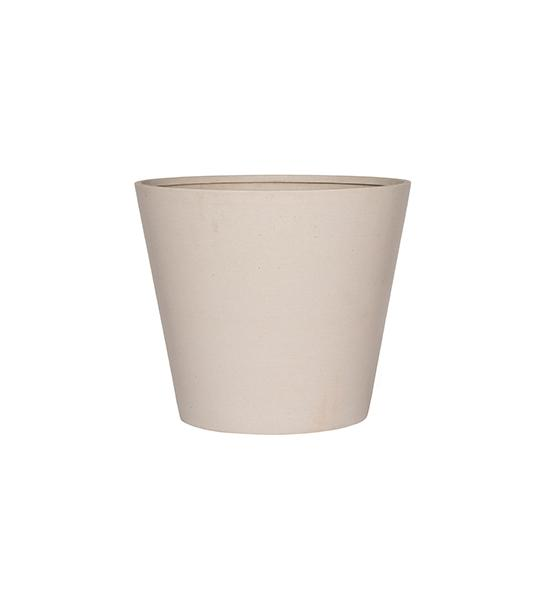 Refined Bucket M natural white