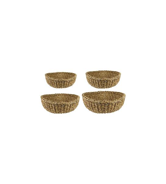 Indoor Pottery Bowl duuk natural (set a 4 pcs.)