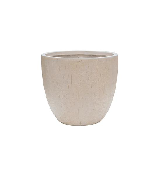 Raindrop Couple pot beige