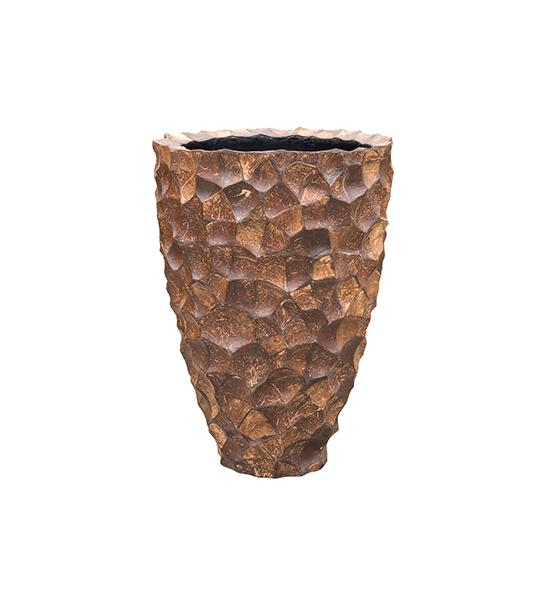 Tunda Partner coconut shell brown